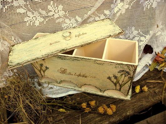 Кухня ручной работы. Ярмарка Мастеров - ручная работа. Купить Чайный короб-дом,  для 4-х сортов чая.. Handmade.