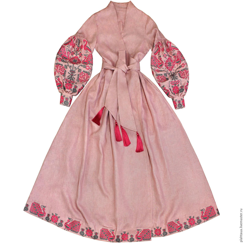 """Длинное платье с запахом """"Птица-Мечта"""", Dresses, Kiev,  Фото №1"""