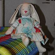 Куклы и игрушки ручной работы. Ярмарка Мастеров - ручная работа Зайка-девочка/Girl hare. Handmade.