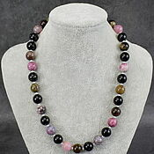 handmade. Livemaster - original item Beads natural stone tourmaline. Handmade.