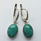 handmade. Livemaster - original item earrings: