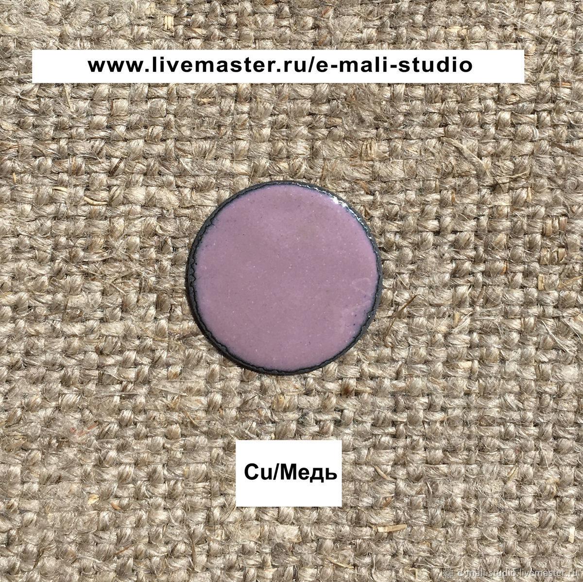 Enamel HILLER Opaque Purple №272 ground 10 grams, Accessories for jewelry, St. Petersburg,  Фото №1