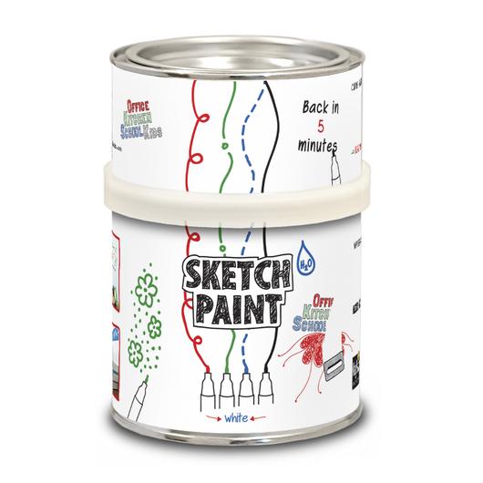 Другие виды рукоделия ручной работы. Ярмарка Мастеров - ручная работа. Купить Маркерная белая глянцевая краска Sketch Paint GLOSS 1000мл. Handmade.