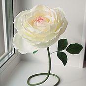Цветы и флористика handmade. Livemaster - original item Big rose from Tamarana. Handmade.