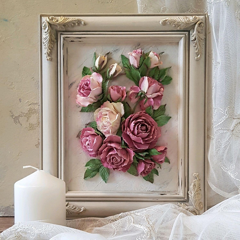 Пионовидные розы, Картины, Ярославль,  Фото №1