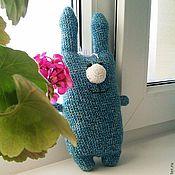 Куклы и игрушки ручной работы. Ярмарка Мастеров - ручная работа Зайка. Вязаная игрушка заяц.. Handmade.