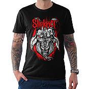 "Одежда handmade. Livemaster - original item Футболка хлопковая ""Slipknot"". Handmade."