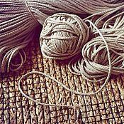 Материалы для творчества ручной работы. Ярмарка Мастеров - ручная работа нет в наличии.3024L шнур льняной натуральный. Handmade.