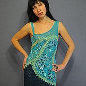 """Одежда ручной работы. Ярмарка Мастеров - ручная работа платье """"Водограй"""". Handmade."""