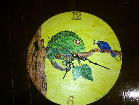Часы для дома ручной работы. Ярмарка Мастеров - ручная работа. Купить Часы настенные в детскую. Handmade. Детская комната