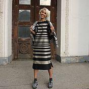 Одежда ручной работы. Ярмарка Мастеров - ручная работа Платье из шёлка ИГРА#ИГРА. Handmade.