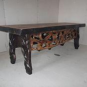 Для дома и интерьера ручной работы. Ярмарка Мастеров - ручная работа стол в гостинную. Handmade.