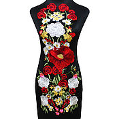 Материалы для творчества handmade. Livemaster - original item luxury large applique, milan. Handmade.