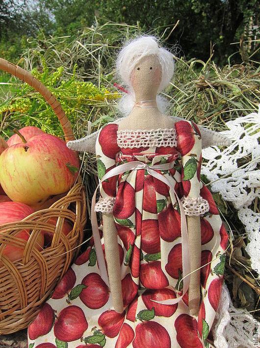 """Куклы Тильды ручной работы. Ярмарка Мастеров - ручная работа. Купить Тильда Сольвейг """"Яблочный сад"""". Handmade. Тильда ангел"""