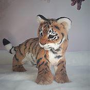 Куклы и игрушки handmade. Livemaster - original item Red tiger cub (symbol 2022). Handmade.
