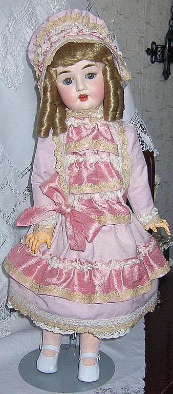 Реставрация. Ярмарка Мастеров - ручная работа. Купить Антикварная кукла Ганс Сейфарт. Handmade. Кукла, Композит