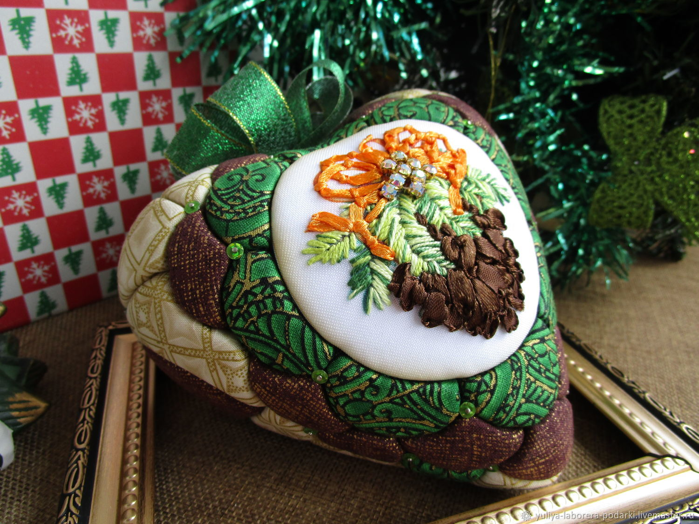 The heart of the 'Christmas bump' (interior decoration), Christmas decorations, Nizhny Novgorod,  Фото №1