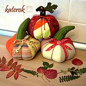 Подарки к праздникам ручной работы. Ярмарка Мастеров - ручная работа Осенняя тыковка. Handmade.