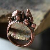 """Украшения ручной работы. Ярмарка Мастеров - ручная работа Кольцо """"Волшебные грибы"""". Handmade."""