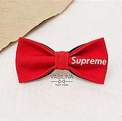 Ties handmade. Livemaster - original item Supreme bow tie. Handmade.