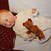 Куклы и игрушки ручной работы. Ярмарка Мастеров - ручная работа Мишка- реплика 40-х годов + набор материалов для изготовления .. Handmade.