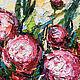 Картины цветов ручной работы. Красные пионы. Анастасия Валиулина. Ярмарка Мастеров. Картины цветов, яркие цветы, кисти