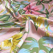 Материалы для творчества handmade. Livemaster - original item Fabric Italian suit silk