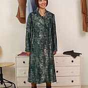 Одежда ручной работы. Ярмарка Мастеров - ручная работа пальто двубортное из искусственного меха. Handmade.