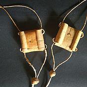 Фен-шуй и эзотерика handmade. Livemaster - original item Birch bark sharkunok - amulet. Handmade.