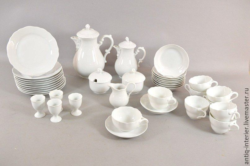 Hutschenreuther tea set, 38 items, Vintage sets, Kaliningrad,  Фото №1