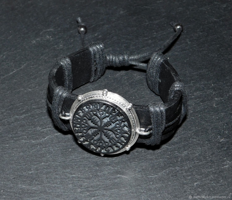 A charm bracelet 'Egisheim'.Shungite,silver,gold, Bead bracelet, Ekaterinburg,  Фото №1