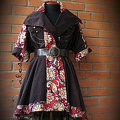 """Одежда ручной работы. Ярмарка Мастеров - ручная работа Пальто """"Кензо"""". Handmade."""