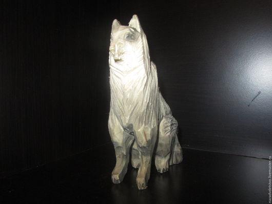 Подарки для мужчин, ручной работы. Ярмарка Мастеров - ручная работа. Купить Вожак стаи Акела.. Handmade. Волк, статуэтка из дерева