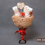 Цветы и флористика ручной работы. Ярмарка Мастеров - ручная работа Мини Букет КотоВрачи. Handmade.