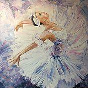 Картины и панно ручной работы. Ярмарка Мастеров - ручная работа Картина Балерина. Handmade.