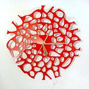 """Для дома и интерьера ручной работы. Ярмарка Мастеров - ручная работа Часы """"Бионика"""". Handmade."""