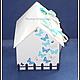 Свадебные аксессуары ручной работы. Свадебная казна-домик для денег с открывающейся крышей. Надежда Куприянова (Nk2907). Ярмарка Мастеров.
