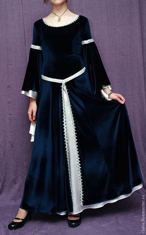 Платья ручной работы. Ярмарка Мастеров - ручная работа. Купить Эльфийская принцесса. Handmade. Эльфийское платье, выпускное платье, тесьма