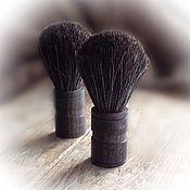 Косметика ручной работы. Ярмарка Мастеров - ручная работа Кисть для бритья( помазок)из натурального ворса(барсук). Handmade.