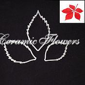 Материалы для творчества handmade. Livemaster - original item A set of cutters Leaves of wild grapes, plastic. Handmade.