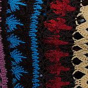 Одежда ручной работы. Ярмарка Мастеров - ручная работа платье из нес кольких видов пряжи. Handmade.