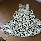 Одежда ручной работы. Ярмарка Мастеров - ручная работа Сарафан для девочки. Handmade.