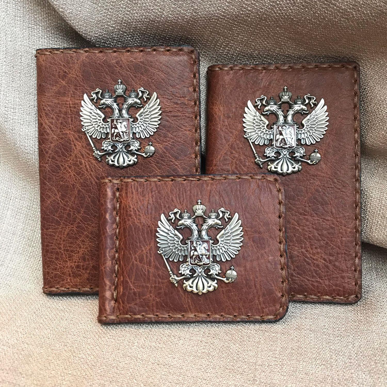 Прекрасная «Тройка» Обложка на паспорт  Военный билет  Зажим для Денег, Спортивная сумка, Москва,  Фото №1