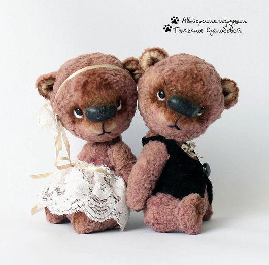 Мишки Тедди ручной работы. Ярмарка Мастеров - ручная работа. Купить Свадебные мишки. Handmade. Мишки тедди, авторский мишка