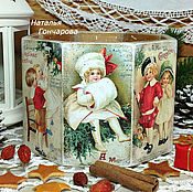 """короб для сладостей """"Рождественское настроение"""""""