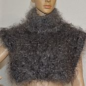 Аксессуары handmade. Livemaster - original item Dickey downy knitted of goat down male female. Handmade.