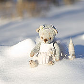 Куклы и игрушки ручной работы. Ярмарка Мастеров - ручная работа Мой добрый Ангел мишка тедди. Handmade.