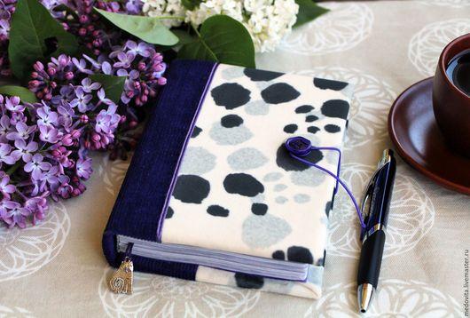 """Блокноты ручной работы. Ярмарка Мастеров - ручная работа. Купить Блокнот """"Фиолетовый кот"""". Handmade. Тёмно-фиолетовый, блокнот для записей"""