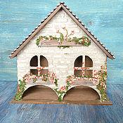 Для дома и интерьера ручной работы. Ярмарка Мастеров - ручная работа Чайный домик в современном  русском стиле. Handmade.
