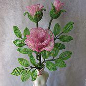 Цветы и флористика ручной работы. Ярмарка Мастеров - ручная работа Роза изящная. Handmade.